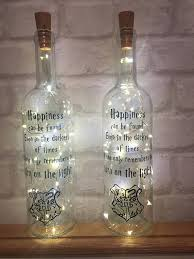 harry potter night light harry potter night light bottle with quote gift present
