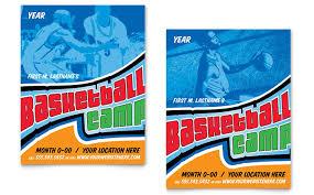 basketball c brochure template basketball sports c poster template design