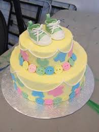 butter cream babyshowwer cakes buttercream baby shower cakes for