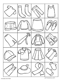 coloring pages about winter clothes coloring page pages for summer fresh clothing arilitv com