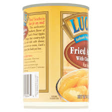 luck u0027s fried apples with cinnamon fat free 15 oz walmart com