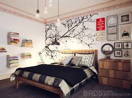 Cool Wall Painting Ideas Great Wall Painted Designshome Design - Creative bedroom wall designs