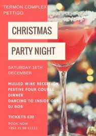 Christmas Party Night - gala christmas party night saturday 16th december termon complex
