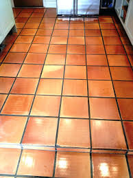 red color terracotta ceramic tile extruded clay floor
