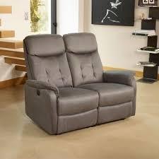 canapé relax electrique 2 places canapé relax électrique 2 places gris l 140 x l 90 170