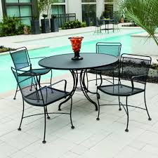 Wholesale Patio Dining Sets Patio Dining Tables Patio Tables The Home Depot With Metal Outdoor