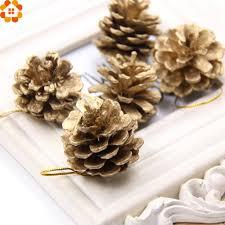 popular christmas decorations pine cones buy cheap christmas