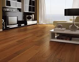 light on the walnut flooring the wooden houses