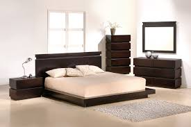 modern king size platform bedroom sets with queen bed image of