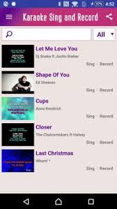 sing karaoke apk free sing karaoke apk free entertainment app for android