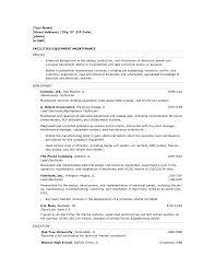 maintenance resume template maintenance resume sle haadyaooverbayresort facilities