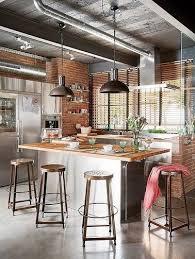 cuisine dans loft la cuisine industrielle un style déco qui inspire lofts