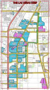 Unlv Map Karte Von Las Vegas Strip Las Vegas Strip Casino Map Vereinigte