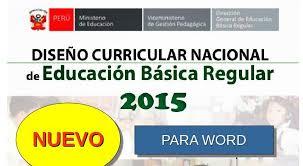 199 2015 minedu matriz de dcn 2015 para word diseño curricular nacional 2015 para word