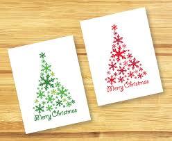 la espátula roja diy christmas cards tarjetas de navidad