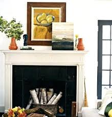 Mantel Fireplace Decorating Ideas - unused fireplace decorating ideas design blog non working no