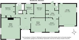3 bedroom detached bungalow for sale in silverton exeter ex5