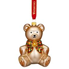 Teddy Bear Christmas Tree Decorations by Waterford Baby U0027s First Christmas 2017 Nostalgic Teddy Bear