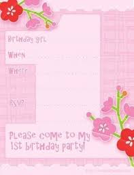 first birthday invitation templates free hitecauto us