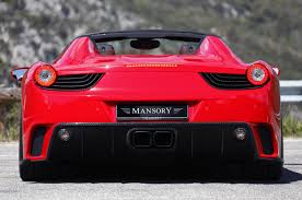 mansory enzos up the ferrari 458 spider w video