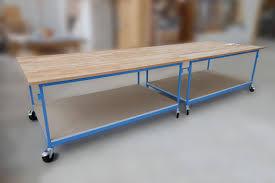 Arbeitstisch Arbeitstische U0026 Fahrbare Tische Nach Mass Das Ideale Produkt