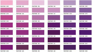 shades of color purple pantone color chart executive apparel great website with lots of
