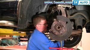 Dodge Ram 1500 Truck Parts - how to install repair replace front wheel bearing hub dodge ram