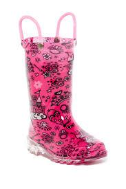 light up rain boots western chief palace party light up waterproof rain boot