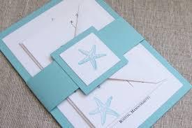 starfish wedding invitations turquoise starfish wedding invitations wedding invites