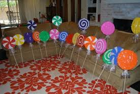candyland party supplies candyland birthday party supplies using big sheets of card stock