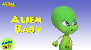 alien baby motu patlu in hindi with english spanish u0026 french