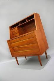Retro Modern Desk Mid Century Desk Cabinet Vintage Retro Office Table Console