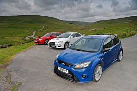 subaru evo ford focus rs vs rivals auto express