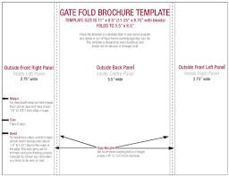 gate fold brochure template how to create a gatefold in indesign best and professional templates
