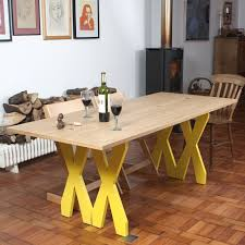 Fold Up Dining Table And Chairs Foldable Dining Table Console Double Cross By Steuart Padwick