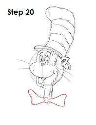 draw cat hat