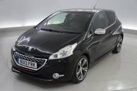 car peugeot 208 used peugeot 208 gti black cars for sale motors co uk