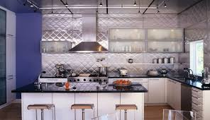 interesting layout table and chairs in white kitchen design