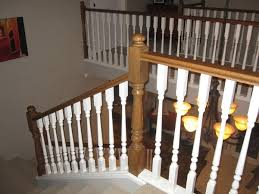 wood stair railing kits interior outdoor wrought iron repair of