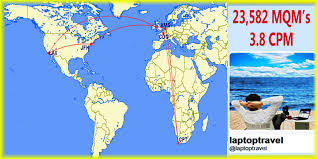 Porter Airlines Route Map by Los Angeles To Cape Town 904 Another Delta Air Lines Mega Mileage