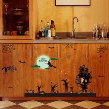 halloween tiled background online get cheap halloween wall decoration aliexpress com