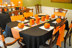 Halloween Decor Home by Best Shiny Table Halloween Decorations 723