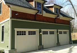 3 Door Garage Benchmark Series Hand Crafted Composite Garage Doors Artisan