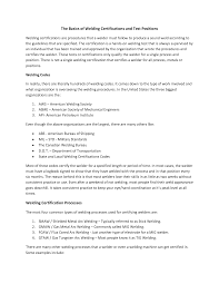 Sample Resume Objectives For Mechanical Engineer by 40 Professional Welder Resume Examples Vinodomia