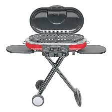 portable gas bbq grill red backyard barbecue outdoor camping