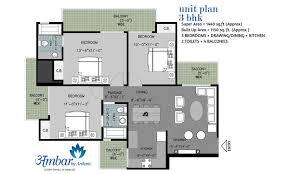 floor plan of arihant ambar sector 1 greater noida west arihant