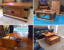 Wooden Coffee Table Plans Diy by 12 Best Diy Tables Images On Pinterest Country Coffee Table Diy