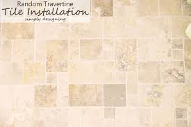 Installing Travertine Tile How To Install Tile Tile Installation Part 3 Thetileshop