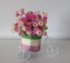 vase gold picture more detailed picture about little bicycle little bicycle vase with rode bud fake flowers set artificial flower arrangement home fashion table decor