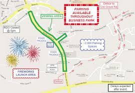 Map Of Camp Pendleton Fireworks Shows Around North County Plus San Diego 2017 Osidenews
